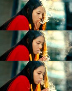 Min Hyorin korean movie Sunny 2011 Movies, Good Movies, Film Aesthetic, Aesthetic Girl, Min Hyo Rin, Kang Sora, Asian Makeup Looks, Smoking Ladies, Photos Tumblr