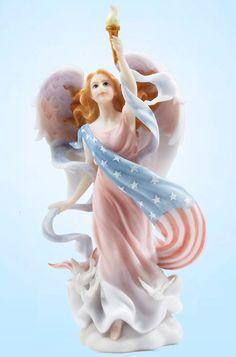 """Liberty - a 7"""" angel"""