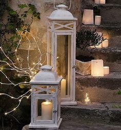 lanterns and candles.....