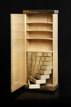 Jewellery Style Wall Cabinet - The Woodworkers Institute