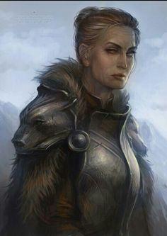 Maege Mormont by Len Yan