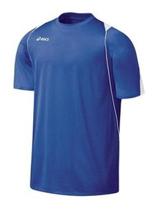 ASICS NEW Mens Crosse Jersey Red Mesh Volleyball Signature T-Shirt