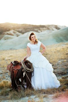 Western Bridal Session