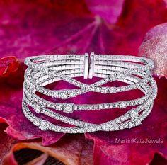 Martin Katz Diamond Bracelet. More