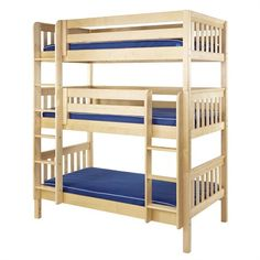 The Riley Slatted Medium Bunk Bed is a fun and functional bunk bed for your child!