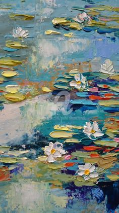 Oil painting Flowers art abstract face painting on canvas yellow oil paint nordic wall art fluid painting on canvas Texture Painting On Canvas, Palette Knife Painting, Oil Painting Abstract, Canvas Art, Abstract Art, Water Lilies Painting, Lily Painting, Oil Painting Flowers, Mural Art