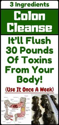 This Is The Most Powerful Colon Cleanser, It'll Flush Pounds Of Toxins From Your Body!