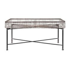 Pitzer Rectangle Wire Plant Stand | Overstock.com Shopping - The Best Deals on Planters, Hangers & Stands