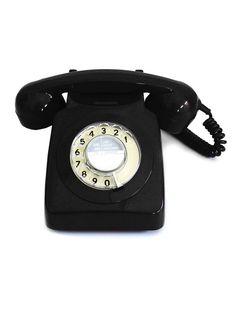 GPO Engineering Classic Black Phone