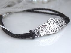 Spoon Jewelry Bracelet Spoon Bracelet HAND by SimplySilverr