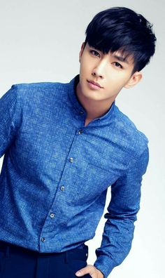 Aaron Yan, he's actually Taiwanese.oh well Aaron Yan, Asian Actors, Korean Actors, Korean Celebrities, Celebs, Refresh Man, Asian Men Hairstyle, Hot Asian Men, Asian Eyes