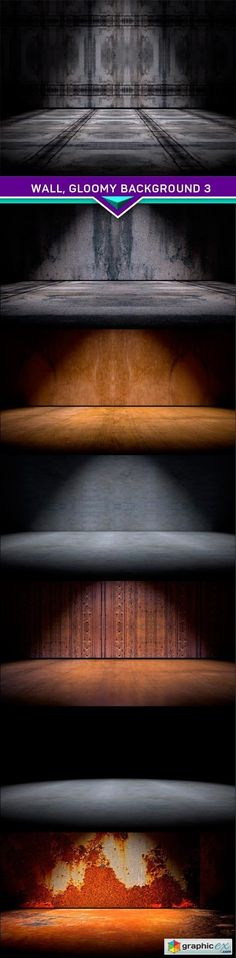 Wall gloomy background 3 7x JPEG  stock images