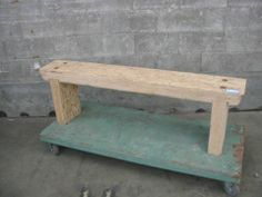 Industrial Bench | Second Use, Seattle: Building Materials, Salvage, & Deconstruction