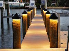 10 Best Dock Lighting Images Boat Dock Dock Lights