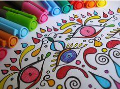 Coloring pictures - Θες να ζωγραφίσεις αλλά δεν μπορείς/ δεν ξέρεις τι θέμα να επιλέξεις/ δεν έχεις έμπνευση