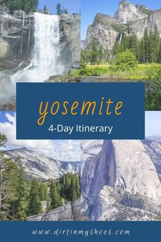 Use this trip itinerary, so you don't miss all the best things to do in Yosemite National Park. Spend your time hiking, seeing the sights, and enjoying Yosemite, instead of fighting crowds, traffic, and hoping for parking. Places In California, California National Parks, Yosemite National Park, Yosemite Vacation, Yosemite Lodging, Best Family Vacations, Camping Photography, Adventure Travel