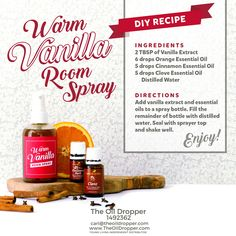 This smells delightful!!! DIY and non-toxic. Toss your old room sprays! http://www.theoildropper.com/homemade-holidays/