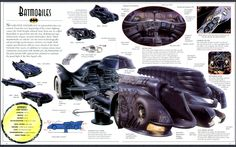 Batmobiles (Batman - The Ultimate Guide to the Dark Knight)