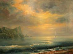 """Above the gray plain of the sea"" Alexei Rychkov 2012."