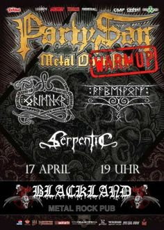 New-Metal-Media der Blog: Der New-Metal-Media Eventtipp: PartySan Warmup #news #metal #berlin