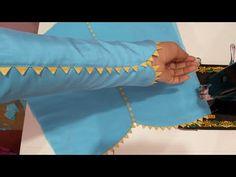 Kurti Back Neck Designs, Kurti Sleeves Design, Sleeves Designs For Dresses, Saree Blouse Neck Designs, Dress Neck Designs, Kurta Designs, Sleeve Designs, Blouse Designs, Design Youtube