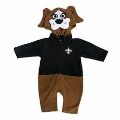 #Saints Gumbo Kids Fleece Outfit #WhoDat