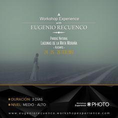 A Workshop Experience with Eugenio Recuenco.  24 25 y 26 de febrero en el Parque Natural Lagunas de la Mata Alicante. Reserva ya tu plaza en http://ift.tt/1MiswSl