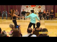 ▶ Improv West Coast Swing - Ben Morris & Tessa Cunningham w/. 'The Way You Make Me Feel'