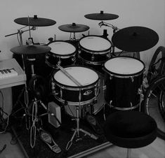 Digital Drums, Drums Electric, Best Drums, How To Play Drums, Drum Kits, Music Stuff, Music Instruments, Rock, The Originals