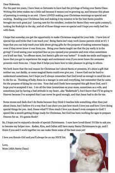 East Coast Creative: Having the Santa Talk Last Christmas, Christmas Morning, All Things Christmas, Christmas Holidays, Christmas Crafts, Christmas Decorations, Xmas, Happy Holidays, Christmas Ideas