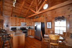 Log Cabin with Fabulous Views of Lake and Mountains - 114 Mole ...