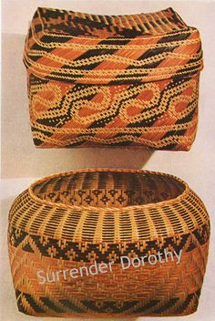 Chetimacha Baskets Native People Photogravure by SurrendrDorothy, via Flickr