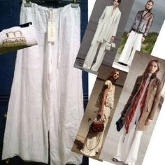 White large pants for numerous outfits of Spring Summer 2016. By M milano Italy only 12,90 € in summer sale -------- Pantaloni bianchi larghi M Milano indispensabili per comporre i numerosi look per la Primavera Estate 2016 a solo 12,90 € #pants #fashion #springsummer2016 #summer2016 #pantaloni #trend #moda #estate2016