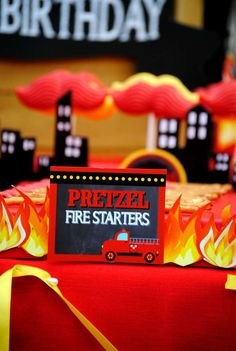 Fireman Party | CatchMyParty.com