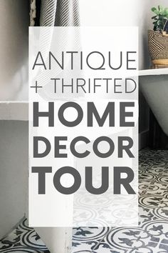 Raise your hand if you love antique home decor. Raised both hands? You've come to the right place! Here's a home tour featuring antique and thrifted finds. Antique Chairs, Antique Decor, Vintage Decor, Rustic Decor, Home Decor Styles, Home Decor Items, Sources Of Stress, Eco Friendly House, Sustainable Design