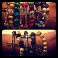 Cross Bracelets! Taking orders...