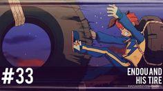 #33 Inazuma Eleven Moments: Endou and his tire.
