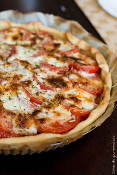 Quiche thon et tomates