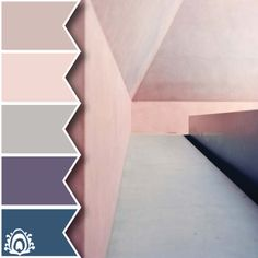 Architecture color palette  Pastel Feather Studio