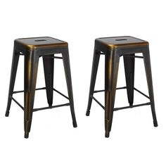 Industrial Metal Bar Stools Industrial Kitchen Industrial Furniture