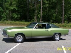 This is like one of my favorite cars I owned.  1972 Chevy Monte Carlo.