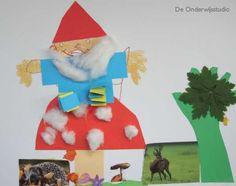 De Onderwijsstudio - Op een grote paddenstoel...