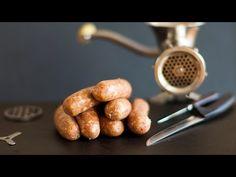 Cómo hacer salchichas caseras - YouTube