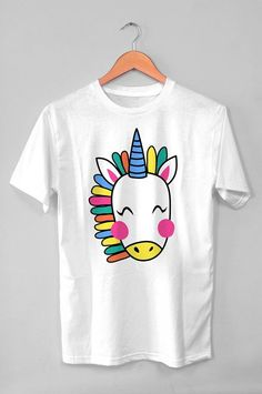 Cute Unicorn Birthday Party Gift Unisex Shirt, Unicorn Lover Tshirt This makes for a great staple t-shirt. It's made of a thicker, heavier cotton, but it's still soft. And the double stitching on the…More Wedding Day Shirts, Bridal Party Shirts, Bride Shirts, Personalized Shirts, Personalized Wedding Gifts, Custom Shirts, Sweatshirt Outfit, Party Gifts, Party Favors