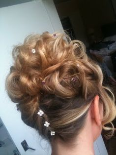 Wedding Hair styling by Fordham Hair Design Gloucestershire ... Lorraine's Wedding at Dumbleton Hall Worcestershire