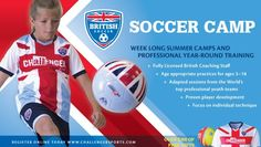 Enroll in british soccer camps today free water bottle with code