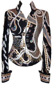 I love the colors and design of this showgirls apparel jacket!