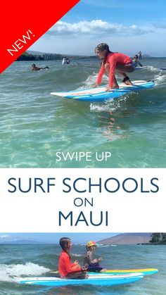 Find Maui Surf Schools Hawaii Hula, Ocean Activities, Surfer Magazine, Learn To Surf, Get Outdoors, Hawaii Travel, Romantic Travel, Maui, Kayaking