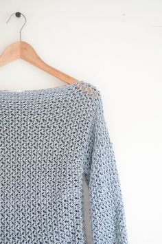 Crochet pattern for a woman's sweater - skill level EASY. You will need hook & yarn. Included are gauge, measurements, diagrams, charts & email contact. DIY