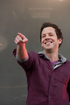 Pierre Bouvier. Simple Plan! They were my favorite band in my teens :))
